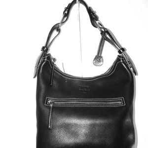 Dooney and Bourke Pebble Black leather bag